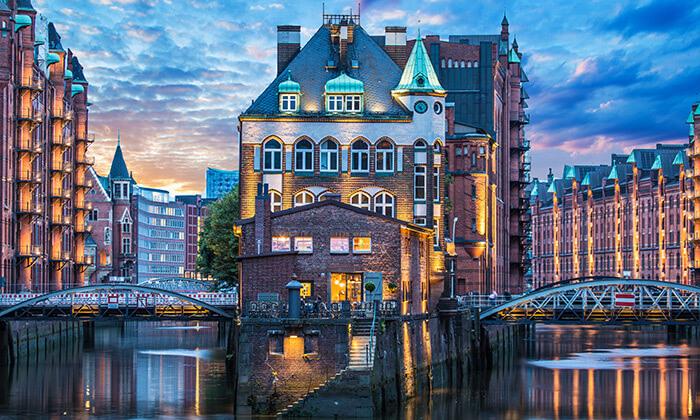 5 תעלות, גשרים ונופים: טיול יום מודרך מברלין להמבורג