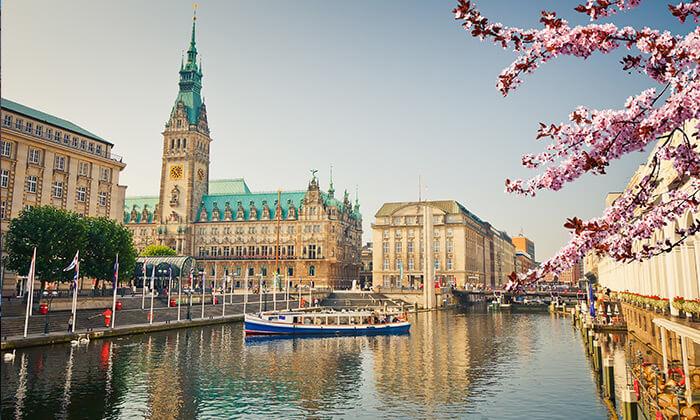 7 תעלות, גשרים ונופים: טיול יום מודרך מברלין להמבורג