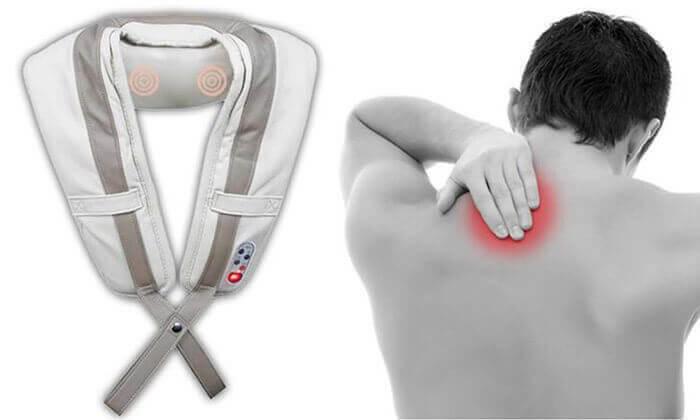 5 חגורת עיסוי חשמלית לצוואר ולכתפיים