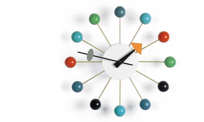 4 שעון קיר Ball Clock