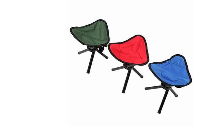 2 כיסא דייגים מתקפל