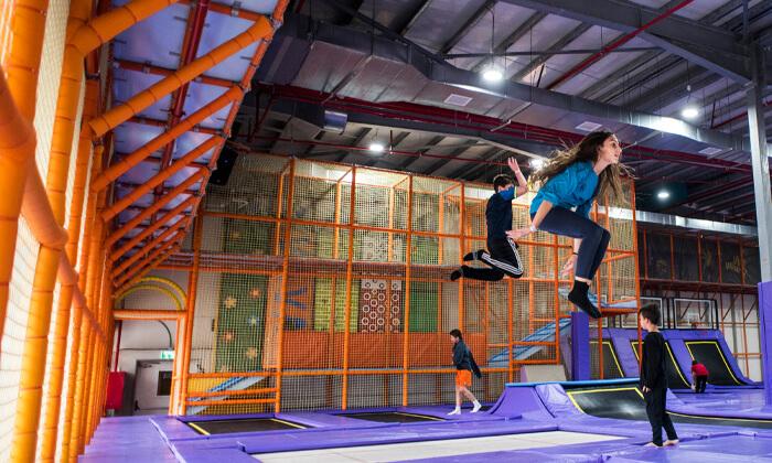 7 Gravity Park גרביטי פארק, כרמיאל - כניסה לפארק האתגרים