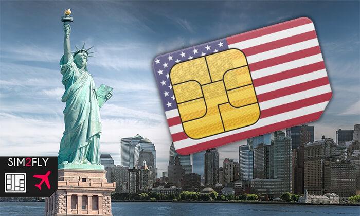 2 SIM לארצות הברית ללא הגבלה