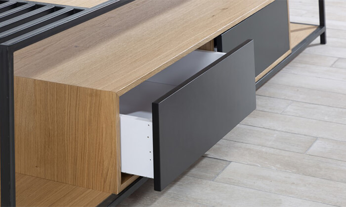 6 שולחן ומזנון סלון LEONARDO