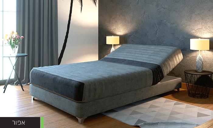7  מיטת נוער חשמלית אורתופדית