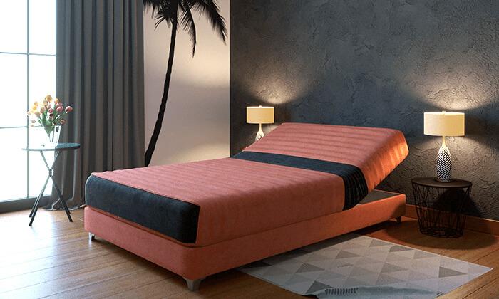 8  מיטת נוער חשמלית אורתופדית