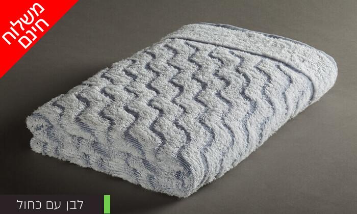 4 מגבת גוף לים ולבריכה, ערד טקסטיל- משלוח חינם