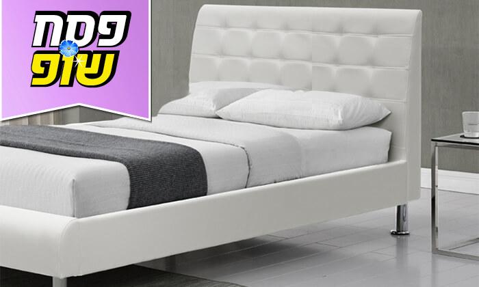 3 מיטת יחיד מרופדת הום דקור HOME DECOR