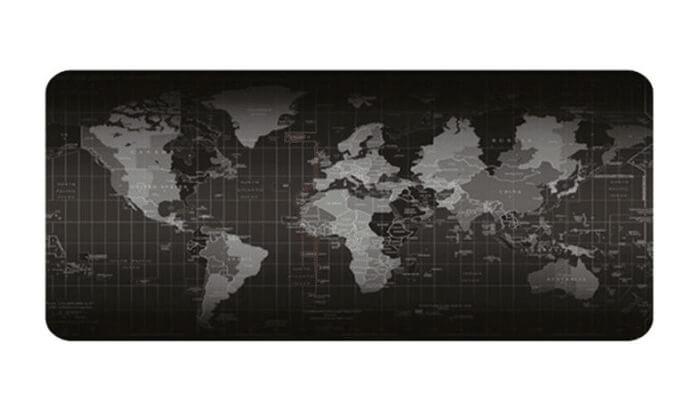 2 משטח שולחן מפת עולם