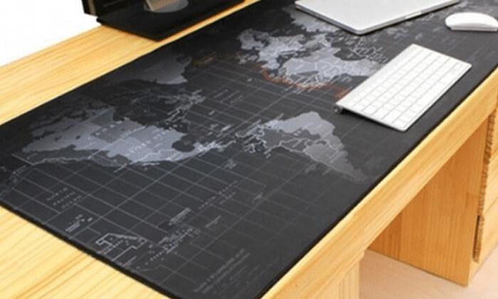 3 משטח שולחן מפת עולם