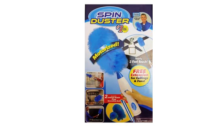 3 מברשת לניקוי אבק SPIN DUSTER