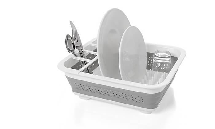 5 מתקן ייבוש כלים מתקפל
