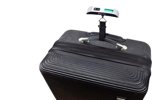 7 משקל דיגיטלי למזוודה SWISS