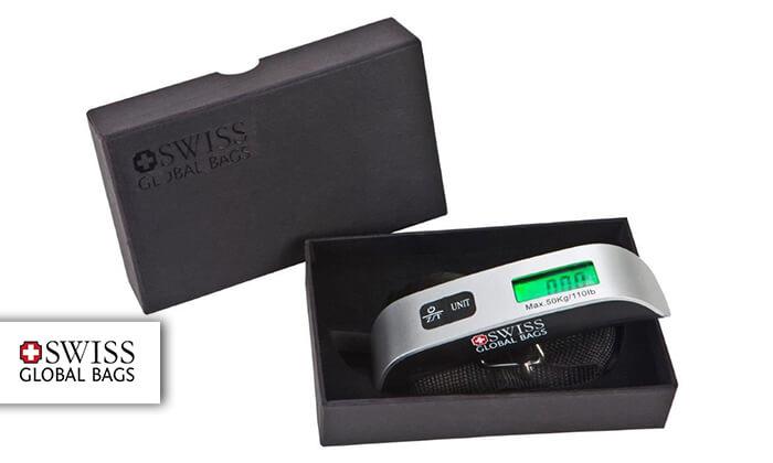 2 משקל דיגיטלי למזוודה SWISS