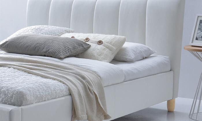 3 מיטה זוגית מרופדת הום דקור HOME DECOR דגם סנדי