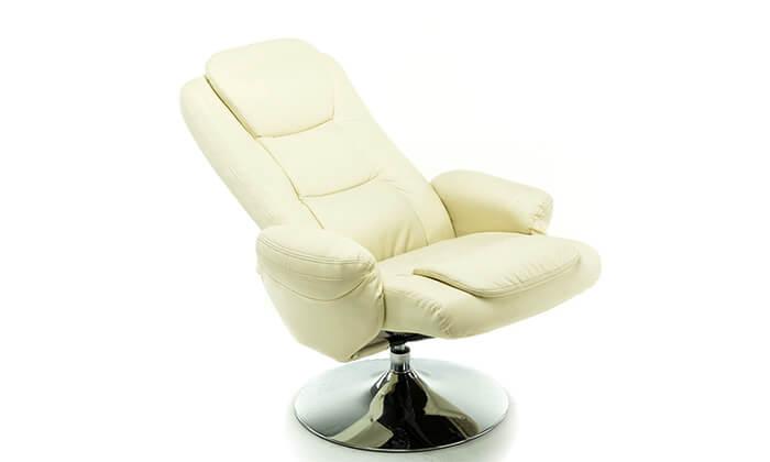 4 כסא מתכוונן עם הדום Hometown