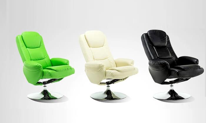 6 כסא מתכוונן עם הדום Hometown