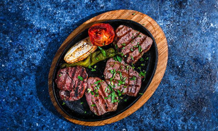 16 ארוחת ספיישל בשרים זוגית בסטלה ביץ' - דג על הים, בת ים