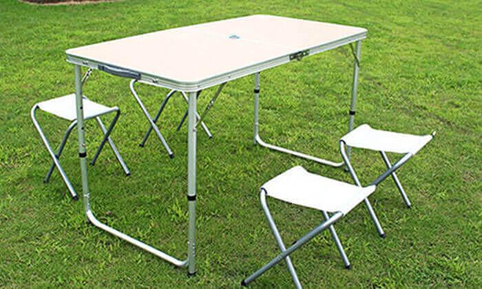 3 שולחן פיקניק מתקפל