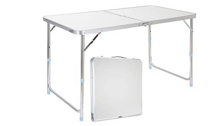 2 שולחן פיקניק מתקפל
