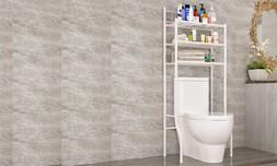 מעמד מדפים לשירותים דגם ישר