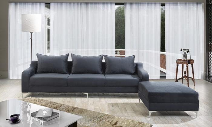 5 ספה תלת-מושבית LEONARDO