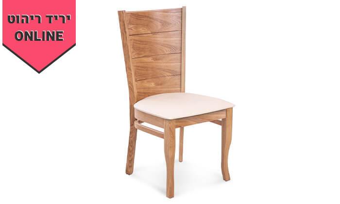 4 פינת אוכל מלבנית עם כיסאות LEONARDO