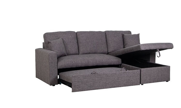 6 מערכת ישיבה פינתית נפתחת למיטה ויטוריו דיוואני Vitorio Divani - משלוח חינם