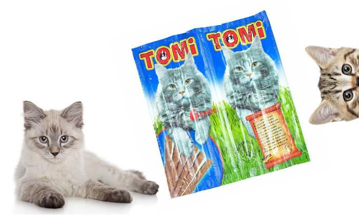 3 מארז חטיפי Tomi stick לחתול