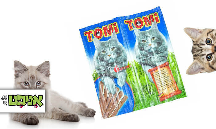 2 מארז חטיפי Tomi stick לחתול