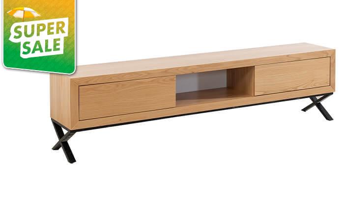 3 מזנון עץ לסלון LEONARDO