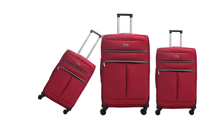 8 סט שלושמזוודות סוויס SWISS