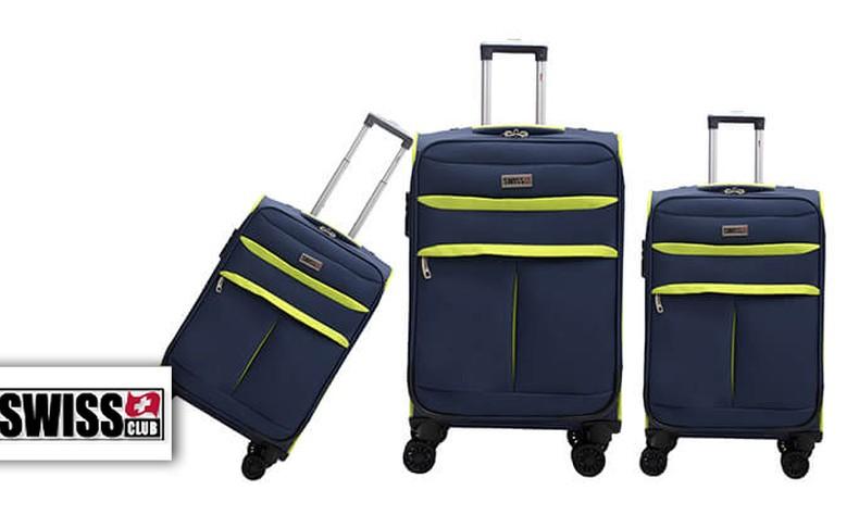 סט שלושמזוודות SWISS