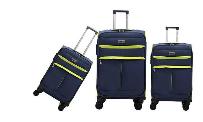 3 סט שלושמזוודות סוויס SWISS