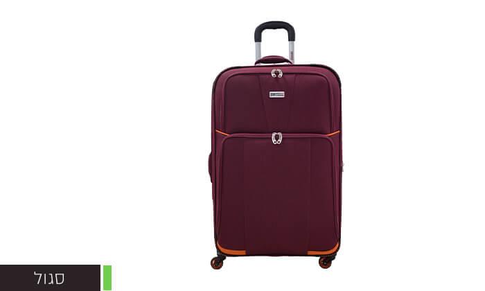 4 זוג מזוודות טרולי 20 אינץ' סוויס SWISS