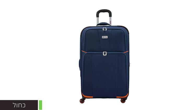 5 זוג מזוודות טרולי 20 אינץ' סוויס SWISS