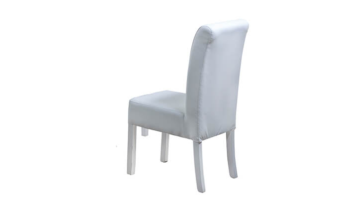 5 פינת אוכל עם 6 או 8 כיסאות LEONARDO, דגם אלסקה