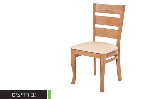 5 פינת אוכל עם 6 או 8 כיסאות LEONARDO, דגם קווינס