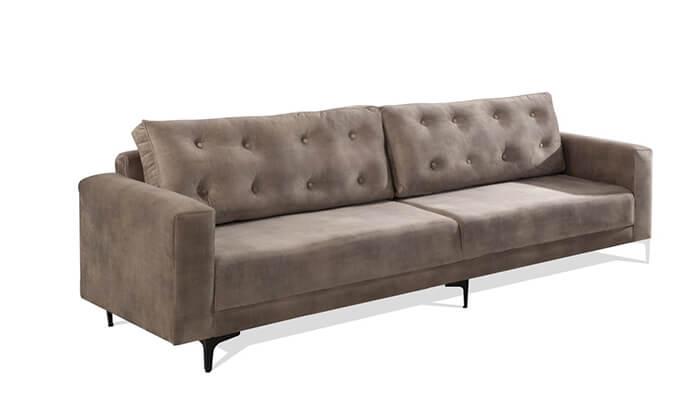 3 ספה תלת-מושבית LEONARDO, דגם מיטל