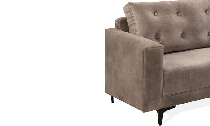 4 ספה תלת-מושבית LEONARDO, דגם מיטל
