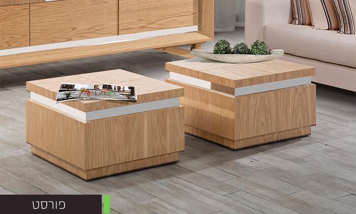 3 שולחן סלון מעוצב LEONARDO