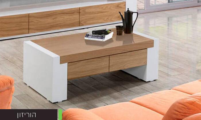 6 שולחן סלון מעוצב LEONARDO