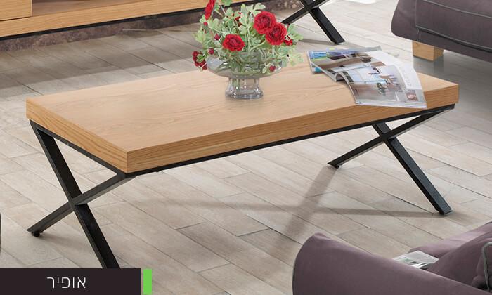7 שולחן סלון מעוצב LEONARDO