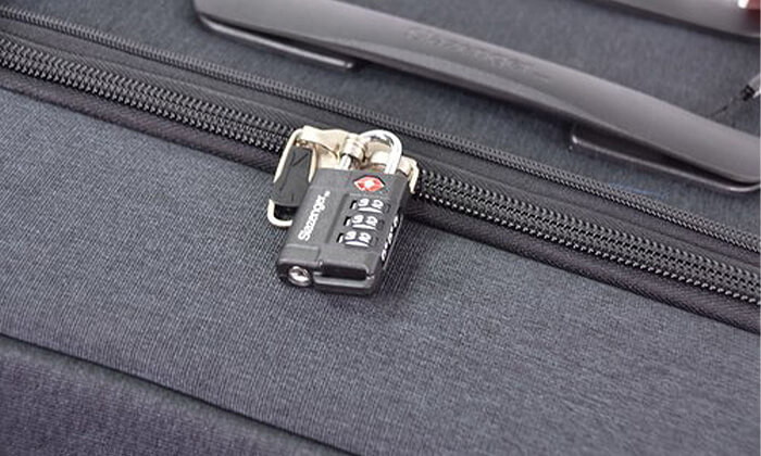 6 סט 3 מזוודות בד קשיחות למחצה Slazenger