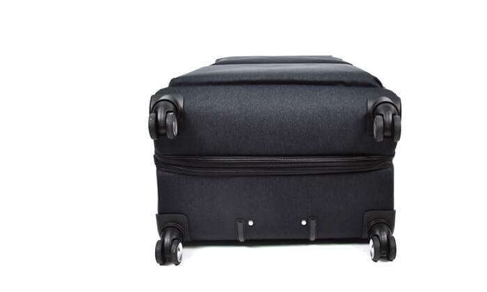 7 סט 3 מזוודות בד קשיחות למחצה Slazenger