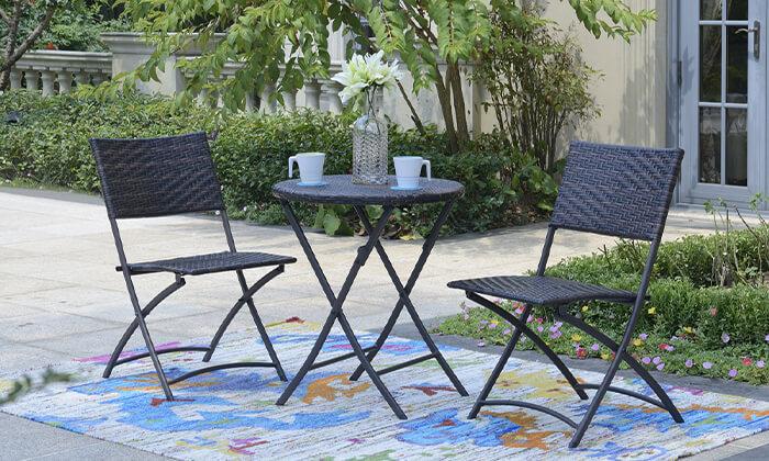 4 פינת ישיבה לגינה ולמרפסת הום דקור HOME DECOR