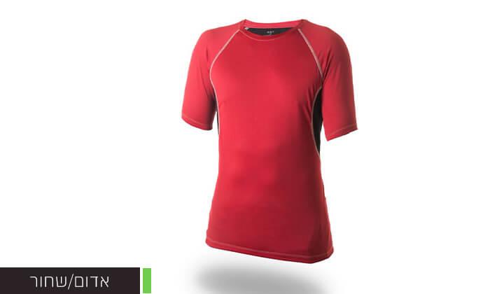 5 זוג חולצות מנדפות זיעה לגבר OUTLAND