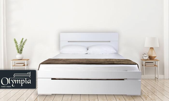 2 אולימפיה: מיטה דגם 7012 עם מזרן מתנה