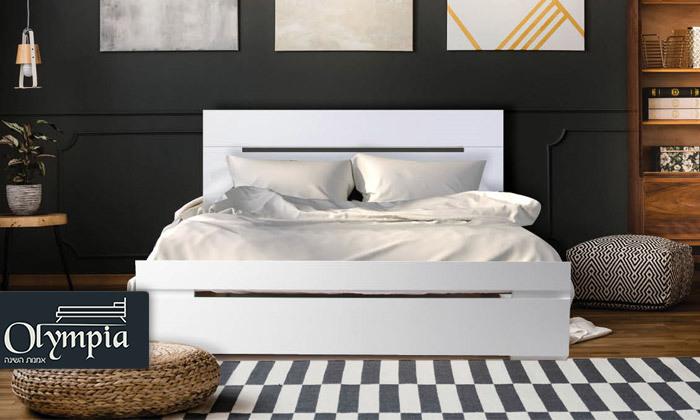 2 אולימפיה: מיטה דגם 7012 עם מזרן מתנה - משלוח חינם