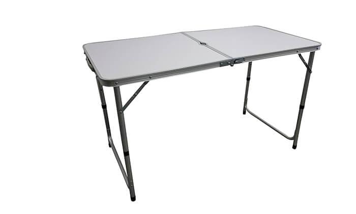 2 שולחן קמפינג מתקפל